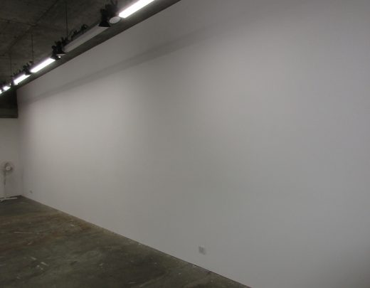 Bare gallery wall